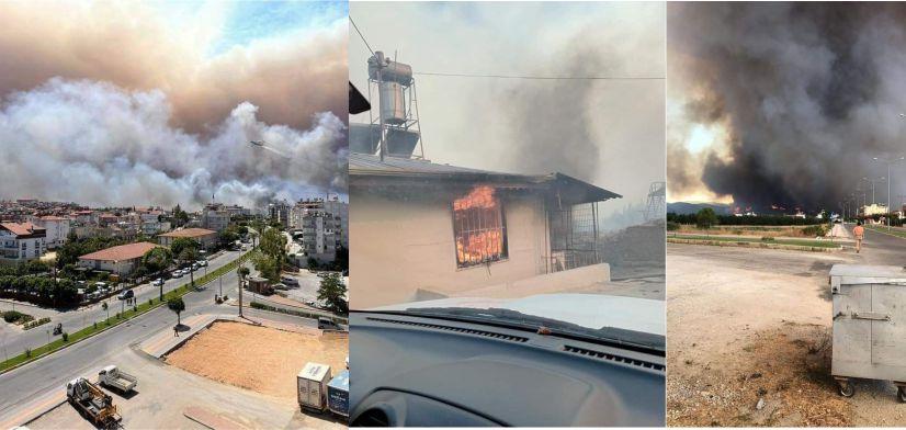 Manavgat Mahalleleri Alevlere teslim oldu
