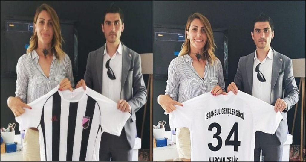 İstanbul Gençlergücü spor kulübü Genç Başkanı Özgür Subaşı Küçükçekmece Akdeniz Nurçelik spor kulübü Başkanı Nurcan Çelik'i makamında ziyaret etti.