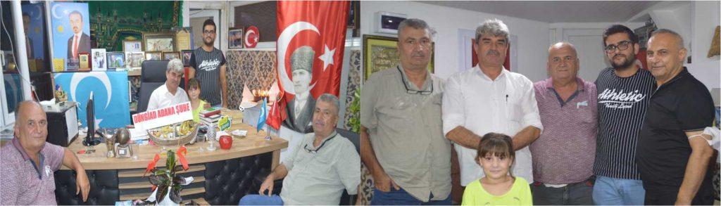 Doğu Türkistan'ın Urucim Milletvekili  Görmez'den Kutlama