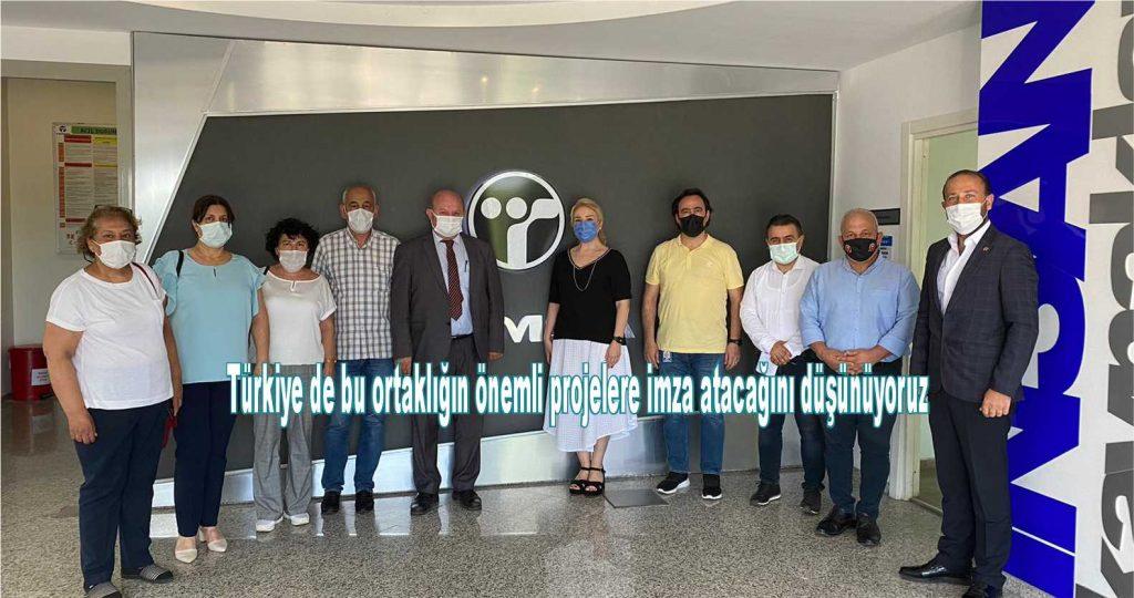 Türkiye de bu ortaklığın önemli projelere imza atacağını düşünüyoruz