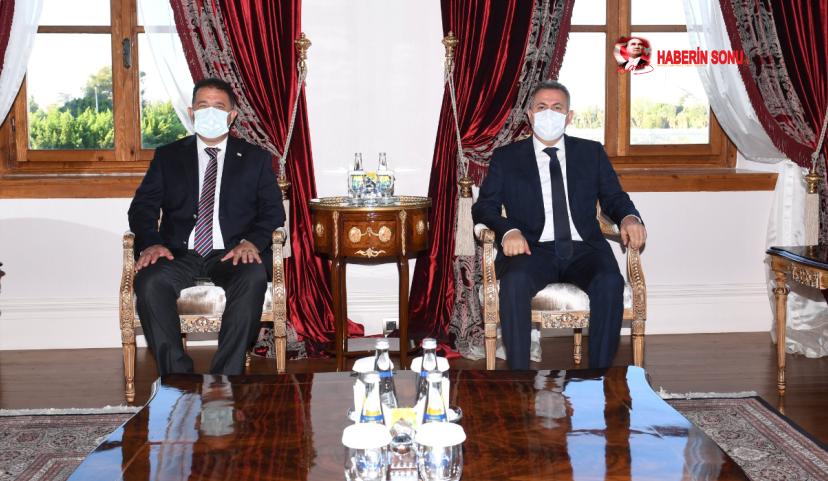 Kuzey Kıbrıs Türk Cumhuriyeti (KKTC) Başbakanı Ersan Saner, bir dizi programa katılmak üzere Adana'ya geldi.