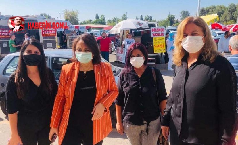 Hülya Gülüce'nin Duruşmasına Adana CHP Milletvekili Müzyyen Şevkin Katıldı