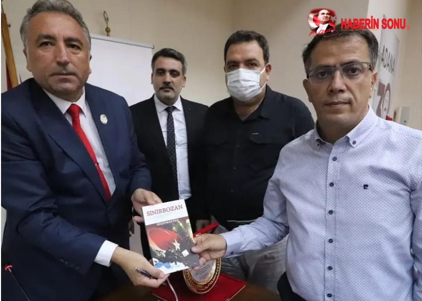 Gazi Süleyman Ege Adana'da İyilik Kitap Kafe'nin Okurlarıyla Buluştu
