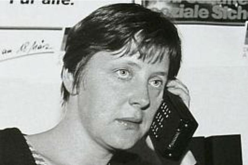 Merkel ilk siyaset yılları