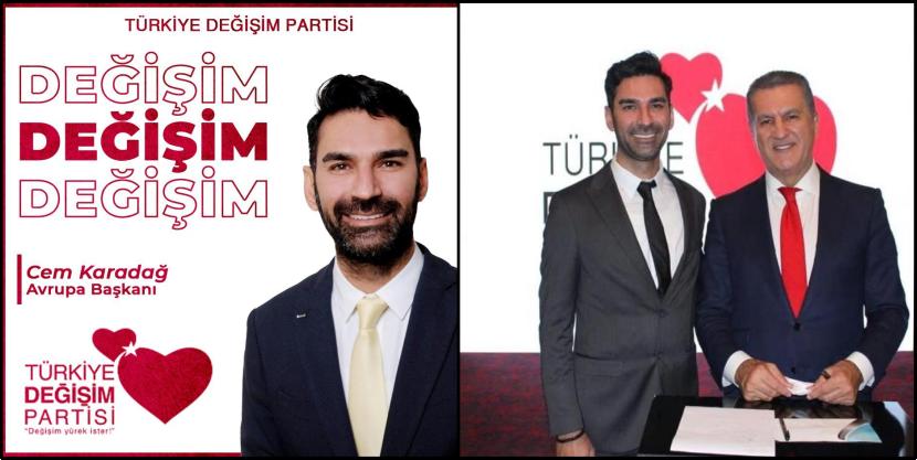 Cem Karadağ her ay en az 2 kez Türkiye ziyareti yaparak çalışmalarını başarılı bir şekilde yürütüyor. Cem KARADAĞ i