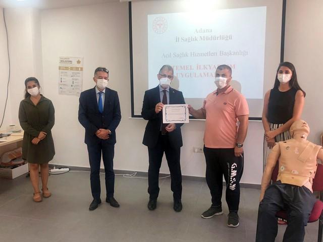 Antrenörlerin 2. Grup Temel İlk Yardım Eğitimleri Tamamlandı