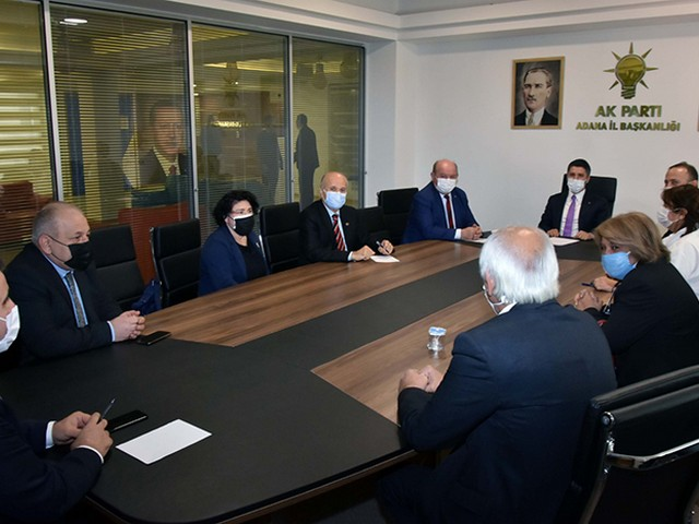 ÇGC, AK Parti'nin konuğu oldu