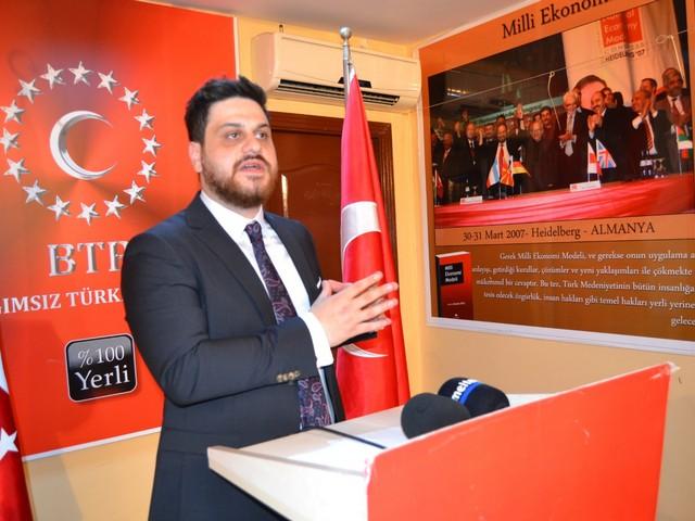 BTP Genel Başkanı Hüseyin Baş''Hani Güçlü Bir ''Ekonomiydik?