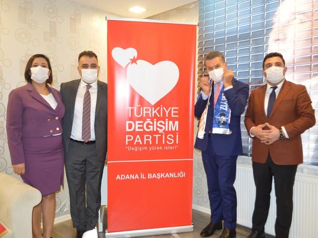 Türkiye Değişim Partisi Adana İl Bşk Açılışı