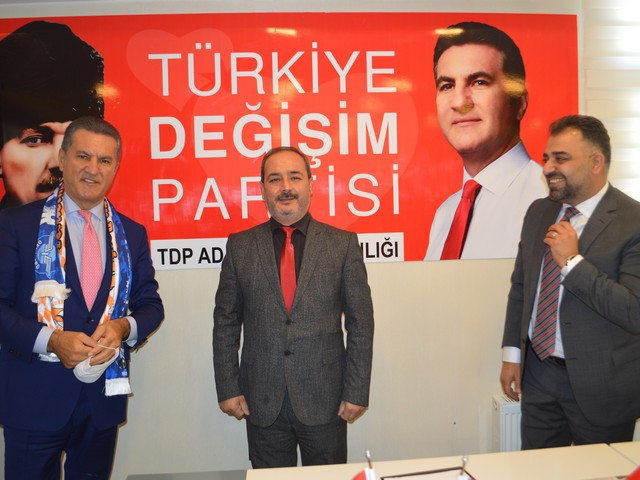 TDP Adana'da Liderlerle buluştu