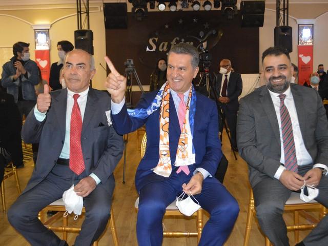 Türkiye Değişim Partisi Anadolu'ya Adana'dan Açıldı.