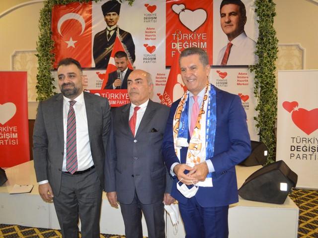 Türkiye Değişim Partisinin önceliğinin insan, özünün vicdan,