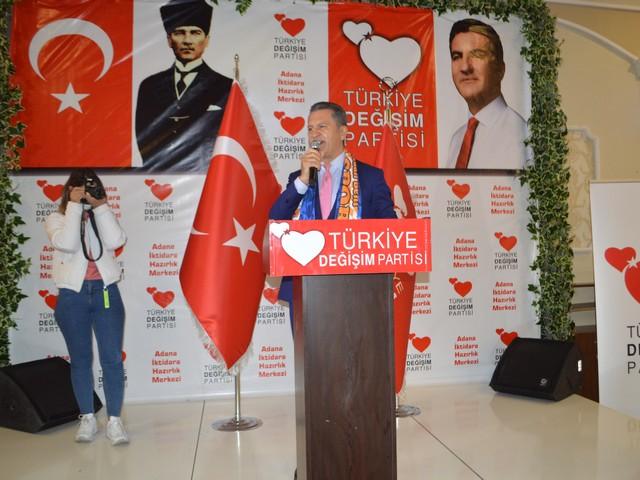 TDP'nin İlk İl Başkanlığı Adana'da