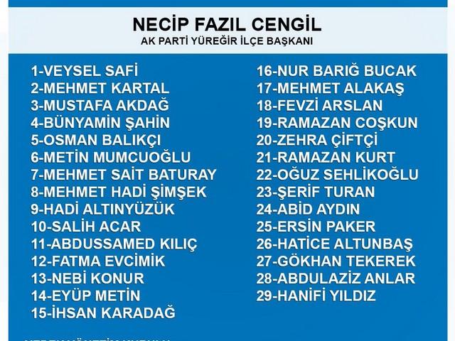 AK Parti Yüreğir İlçe Başkanlığı