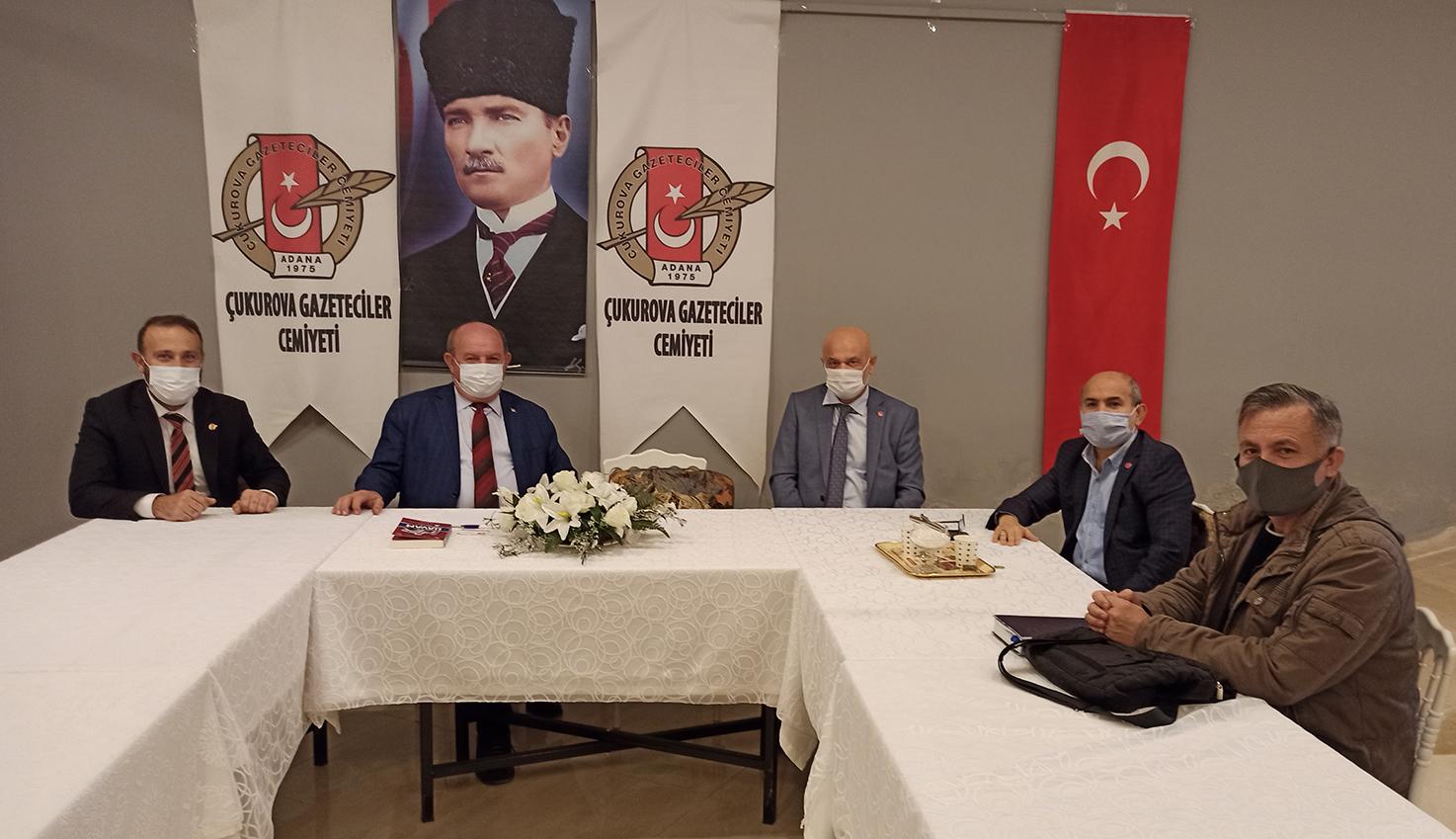 Baysal; YRP'nin 2.Kuruluş yıldönümü kapsamında Başkan Cafer Esendemir'i ziyaret etti