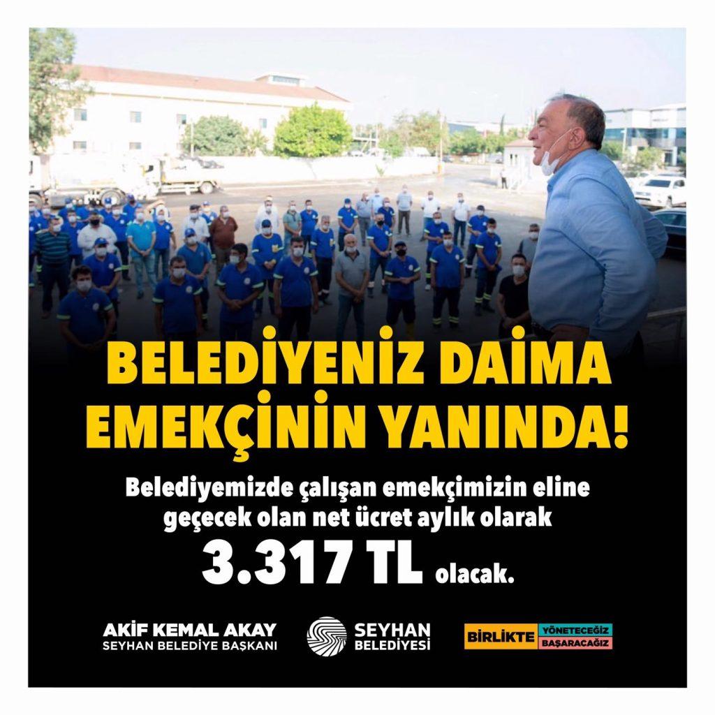 Seyhan Belediyesi'nde Grev Sesleri