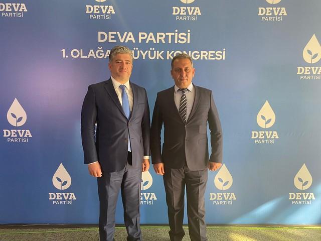 DEVA Partisi TUFANBEYLİ İlçe Başkanlığına Hacı Rüstem KEÇE Atandı