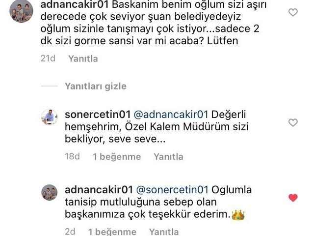 """Çukurova Belediye Başkanı Soner Çetin'in her hafta yaptığı """"Sen Sor Başkan Cevaplasın"""