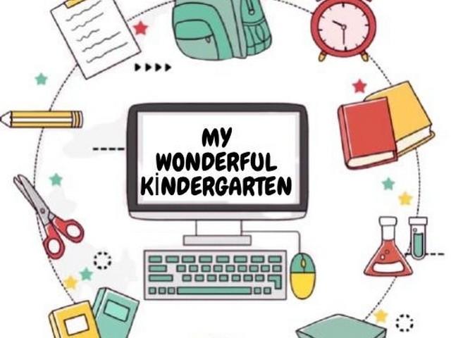 Muhteşem Anaokulum (My Wonderful Kindergarten) adlı eTwinning projesi Ocak ayı sonuna kadar devam edecek.