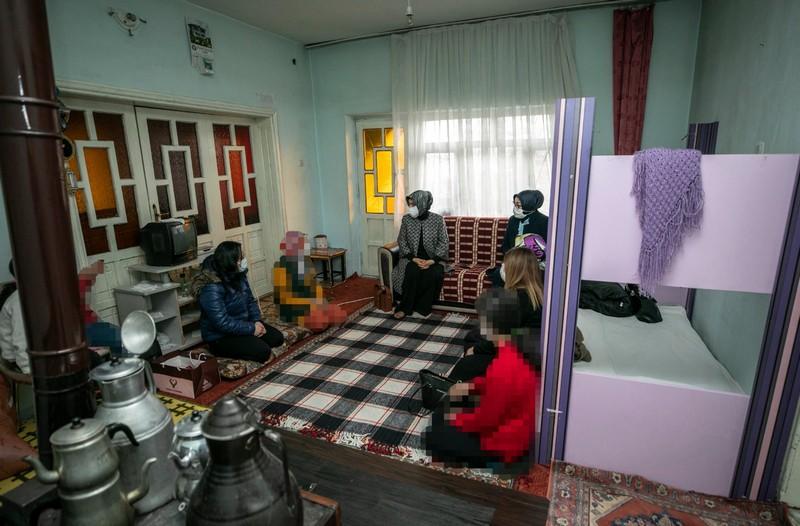 ihtiyaçları devlet desteğiyle karşılanan ailelere yönelik ziyaretler