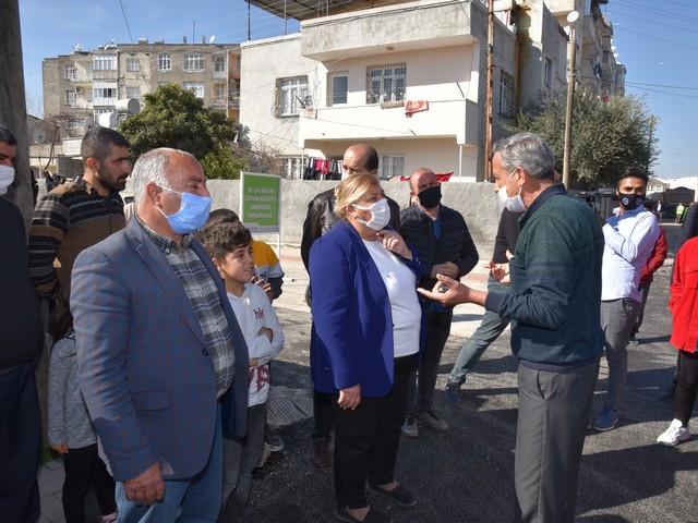 Asfalt çalışmalarına aralıksız devam eden Ceyhan Belediyesi,