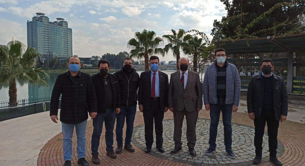 """Mersin Mezitli Belediyesi'nin yaptırdığı """"BASINEVİ"""