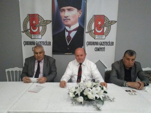 TürkiyeEmekliler Derneği Adana Şubesi Başkan Adaylarından Mustafa Tümer ÇGC'de