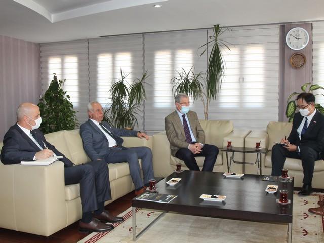 Büyükelçi Won Ik Lee, ATO'yu ziyaretinde