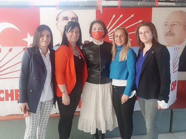 Chp seyhan İlçe Örgütü olarak 8 mart dünya emekci kadınlarımızın kutlaması