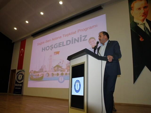 Sağlık-Sen Genel Sekreteri Durali BAKİ, Genel Başkan Yardımcısı Yasin BARUTÇU bir dizi ziyaretler ve Teşkilat toplantısına katılmak üzere Adana'ya ziyaret gerçekleştirdi.