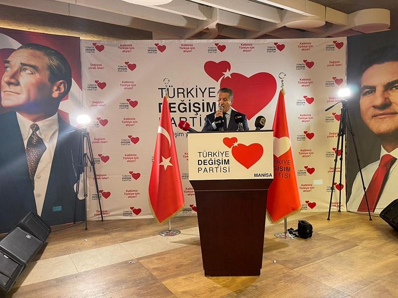 Sarıgül,Partisinin İktidara Hazırlık Merkezi Açılışı İçin Manisa'daydı.