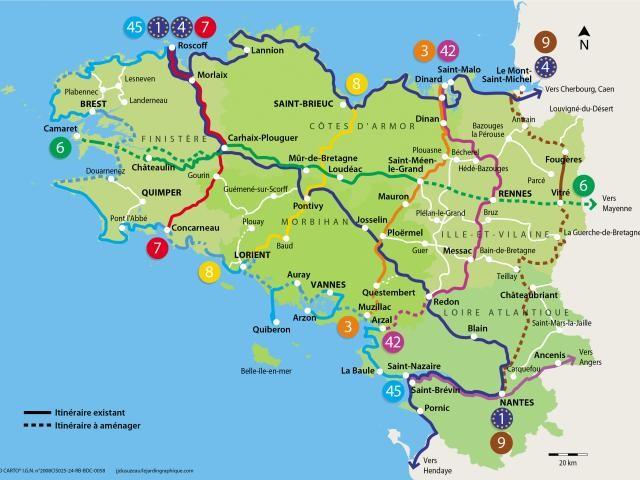 Fransa'nın Bretagne bölgesi HABERİN SONU www.haberinsonu.com