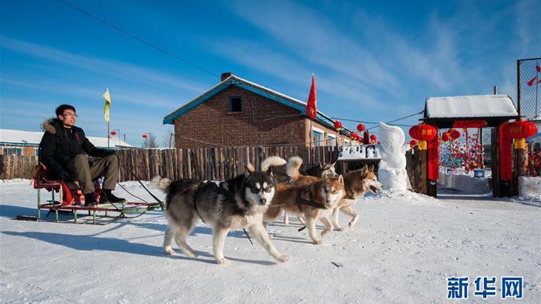 Çin'in en soğuk köyünde turizm, ormanları koruma çabaları neticesinde ısınıyor