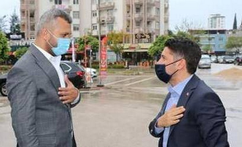 Ak Parti Adana İl Başkanı Mehmet Ay'dan Şanlıurfa'nın kurtuluşu sebebi ile anlamlı ziyaret