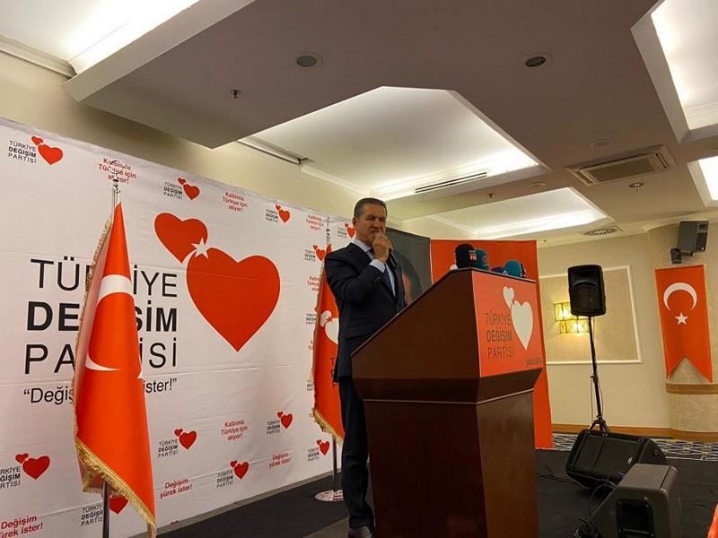 Türkiye Değişim Partisi Genel Başkanımız Mustafa Sarıgül, Şanlıurfa'da büyük bir coşku ile karşılandı