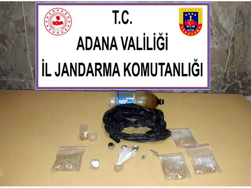 Adana İl jandarma Komutanlığı uyuşturucu Operasyonu