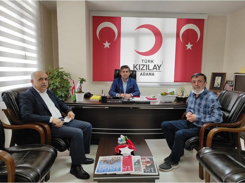 Kızılay Adana Şubesini ziyaret etti.