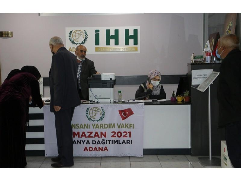 Ramazan'da Adana'da 10 bin ihtiyaç sahibi aileye yardım yapacaklar