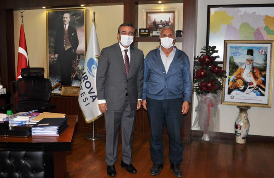 Başkan Soner Çetin'den vefa şehit babasından teşekkür