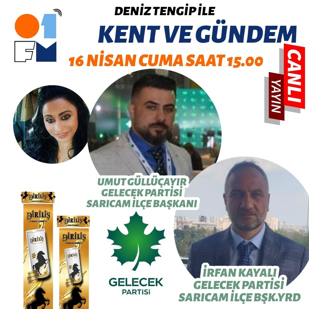 Gelecek Partisi Sarıçam'da GELECEK Yaratacak