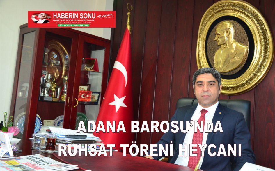 Adana Barosu'nda Ruhsat Töreni Heyecanı Ve Mutluluğu Yaşandı