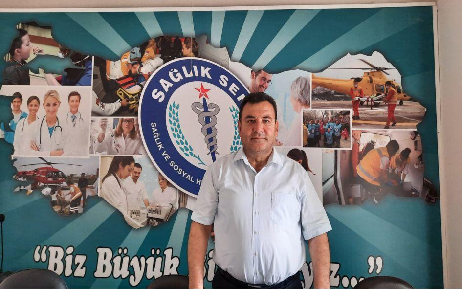 Sağlık Sen Adana Şubesi Başkanı Bekir Nennioğlu