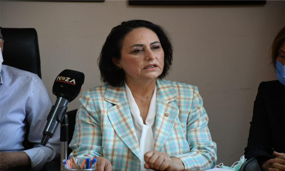 CHP Adana Milletvekili Dr. Müzeyyen Şevkin,