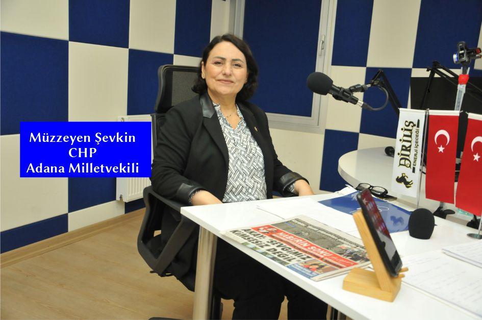 CHP Adana Milletvekili Müzzeyen Şevkin