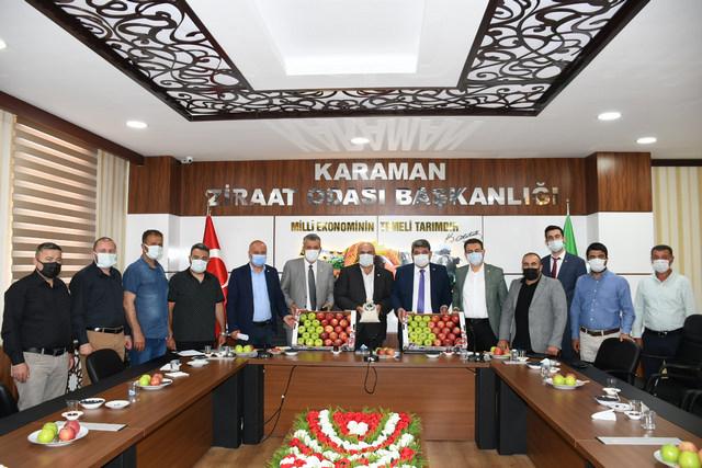 CHP Heyeti, Konya ve Karaman'da kuraklık mağduru çiftçilerle buluştu