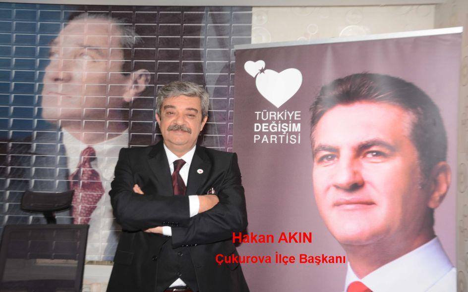 Türkiye değişim Partisi Çukurova İlçe Başkanı Hakan Akın'ın Anneler Günü Mesajı