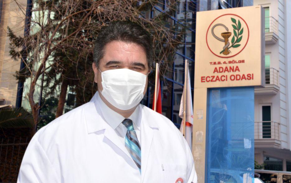 Adana Eczacı Odası (ADEO) Başkanı Ecz. Ö. Mürsel Yalbuzdağ,