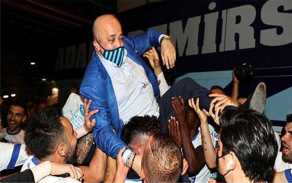 Adana Demirsporun 26 yıllık hasret son buldu