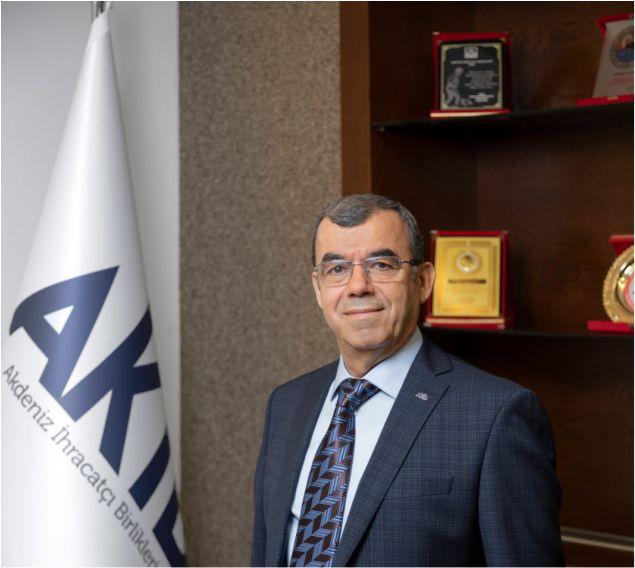 Akdeniz İhracatçı Birlikleri'nin yeni dönem Koordinatör Başkanı Nejat Sin
