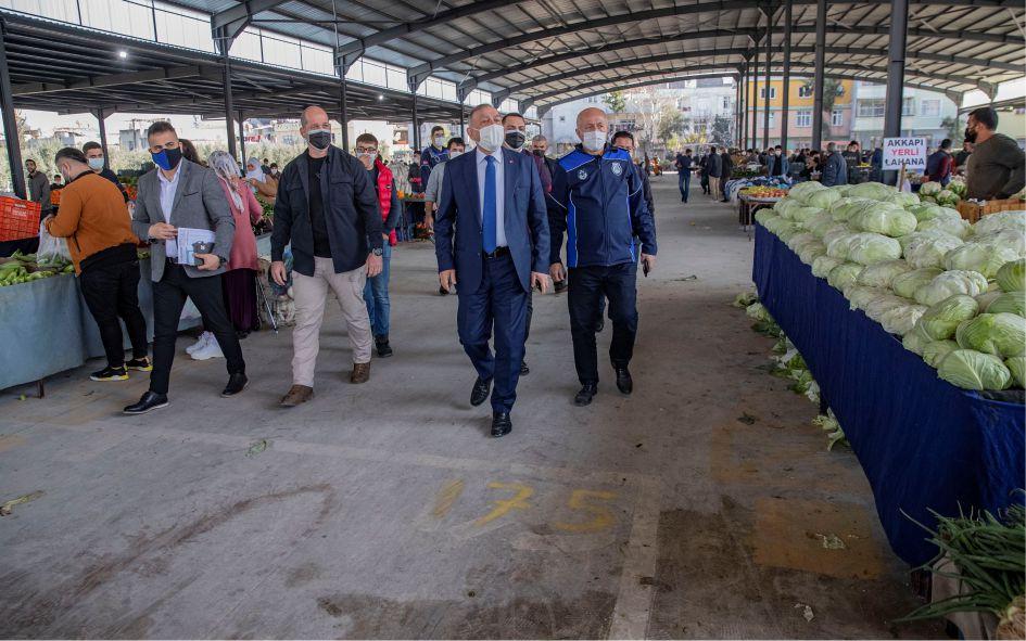 Seyhan'da 31 mahallerde Semt Pazarı Kurulacak